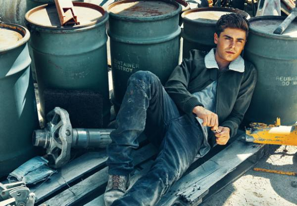 interview and tons of pictures from his photo shoot inside Zac Efron Details Photoshoot